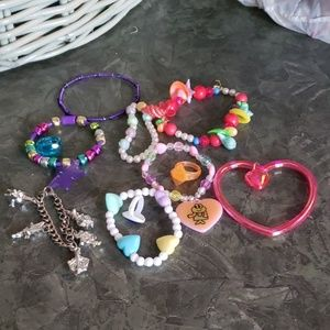 Other - Childrens Plastic Jewelry Lot of 11